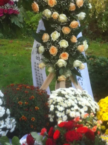 说''我 怀着悲痛的心情告诉你,我太太索宝莉已于德国时间10月19日17